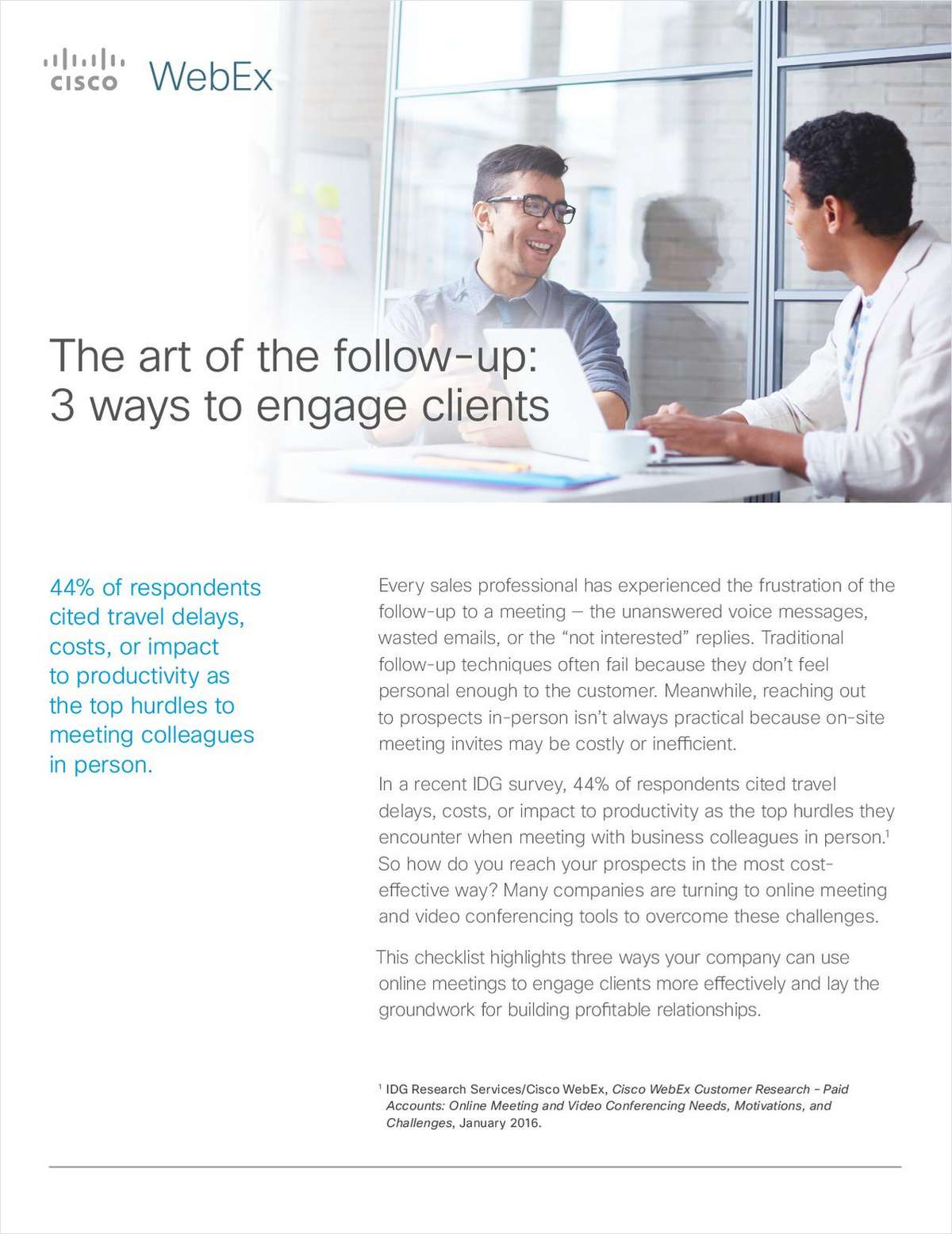 The Art of the Follow-up:  3 Ways to Engage Clients