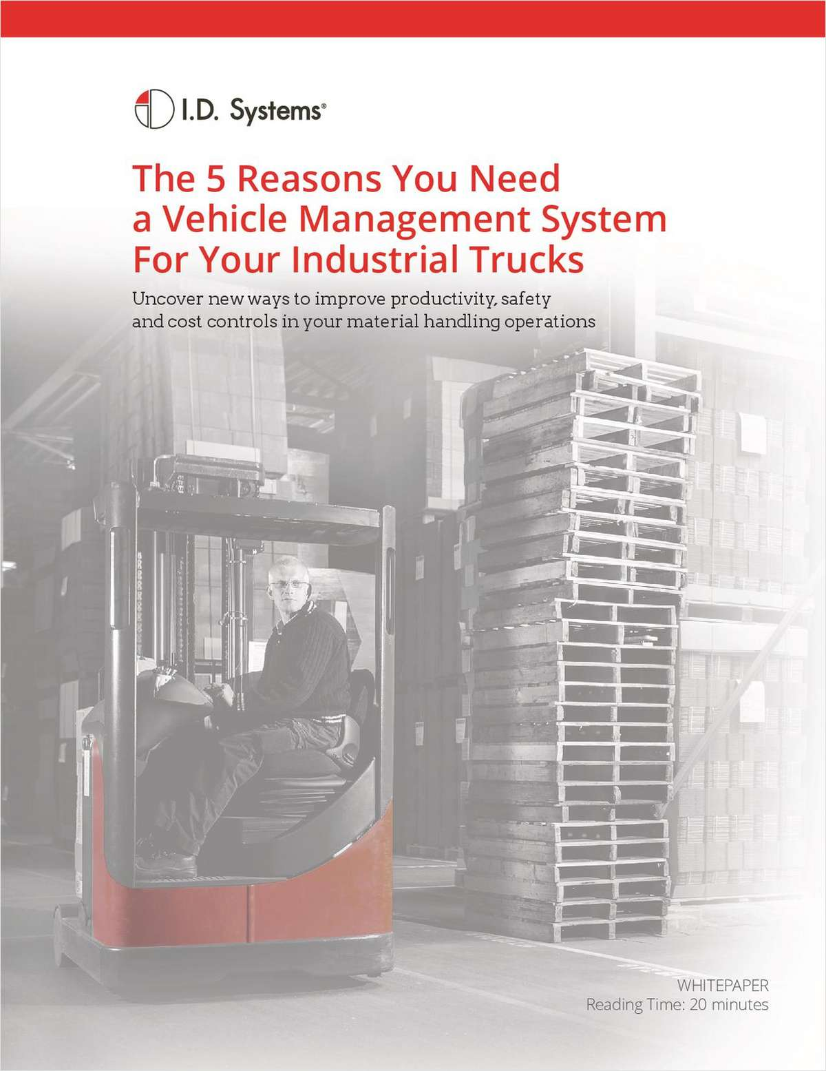 The 5 Reasons You Need  a Vehicle Management System For Your Industrial Trucks