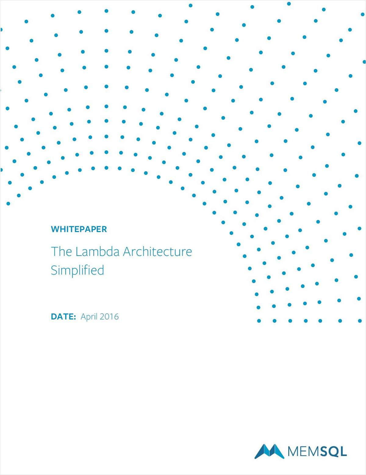 The Lambda Architecture Simplified