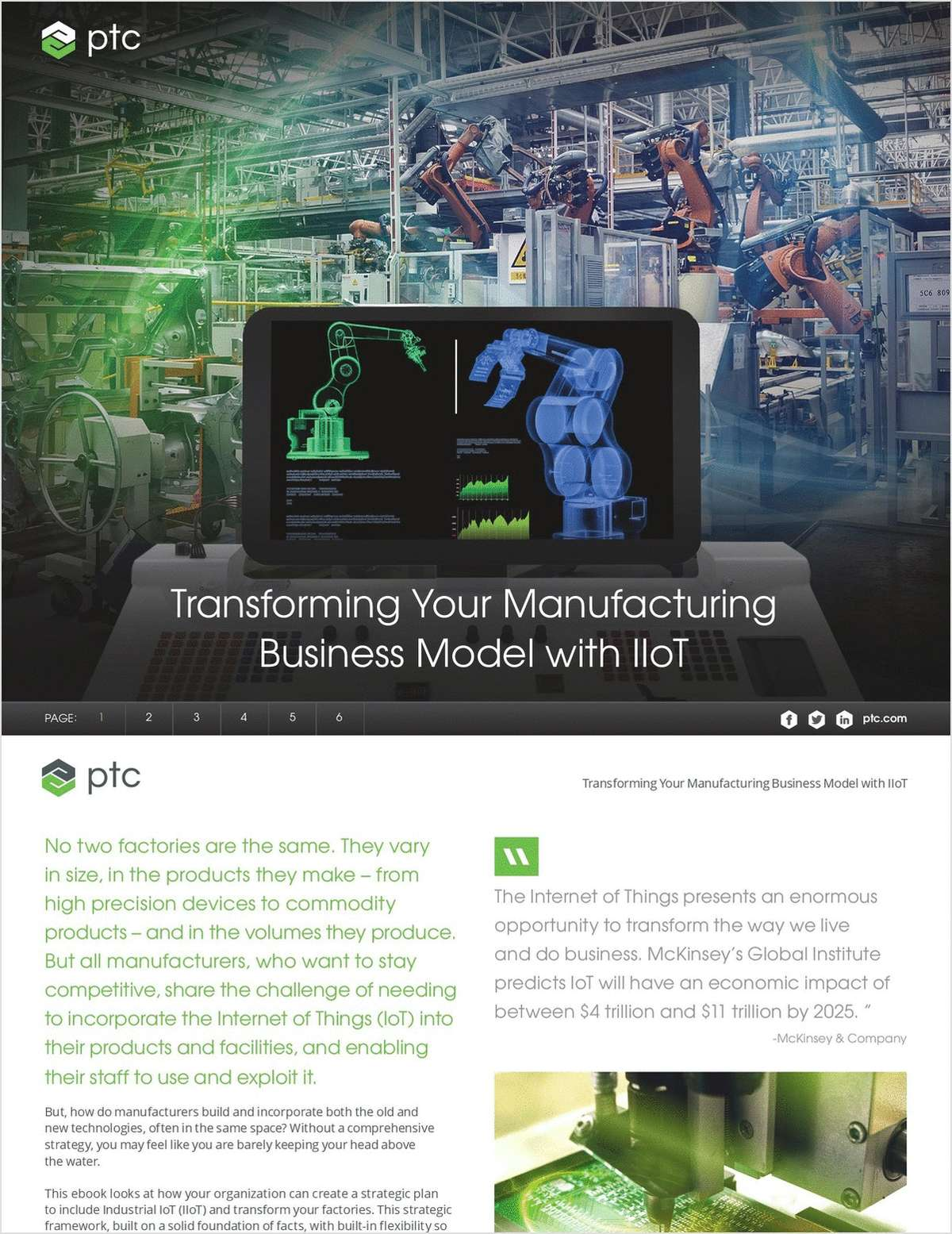 Transforming Your Manufacturing Business Model with IIoT