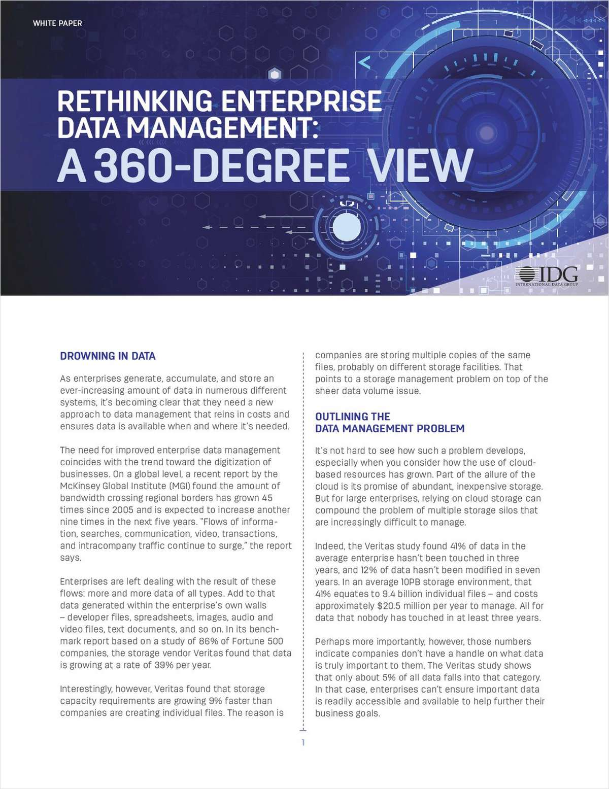 Rethinking Enterprise Data Management: A 360-Degree View
