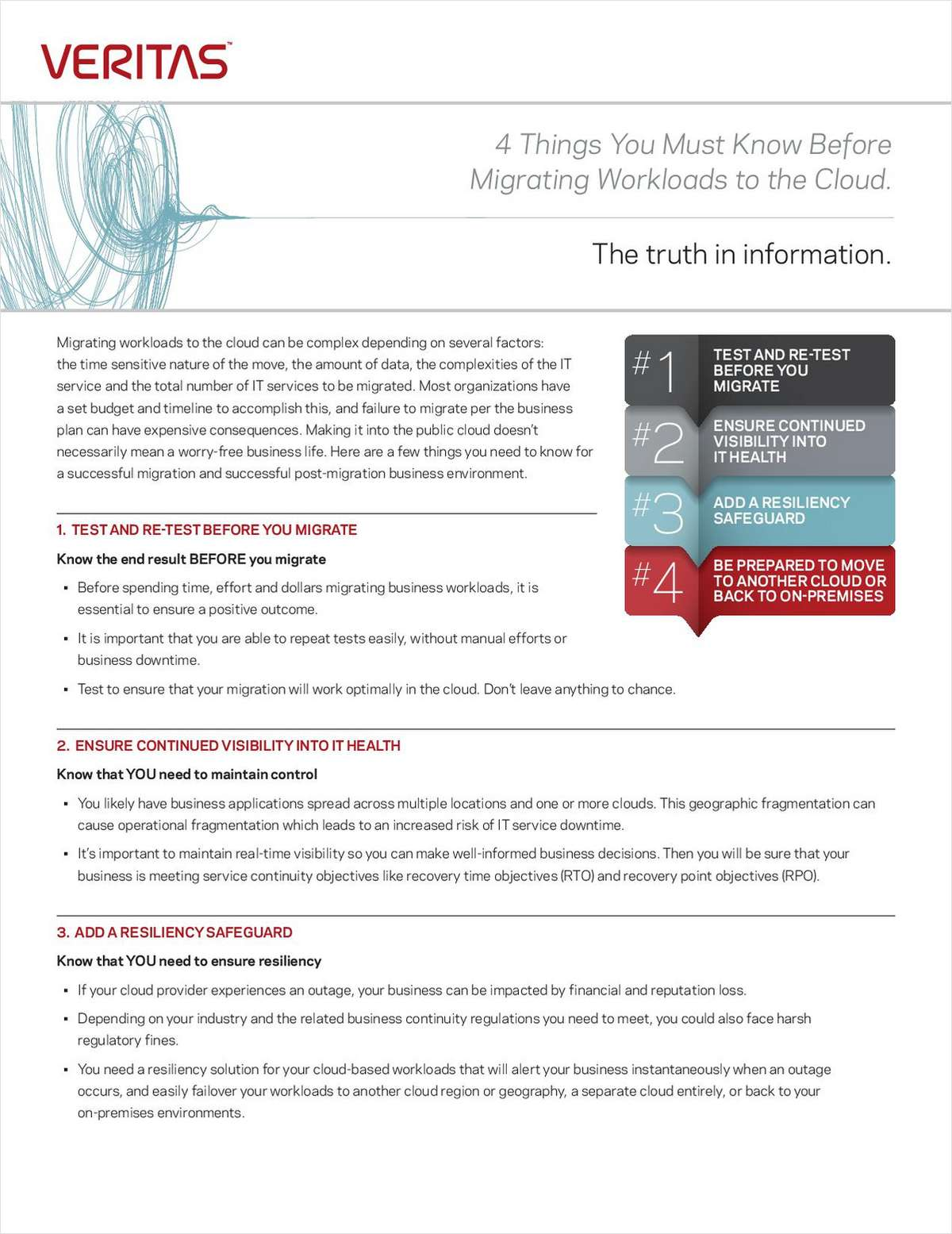 4 Things You Must Know Before Migrating Workloads to the Cloud