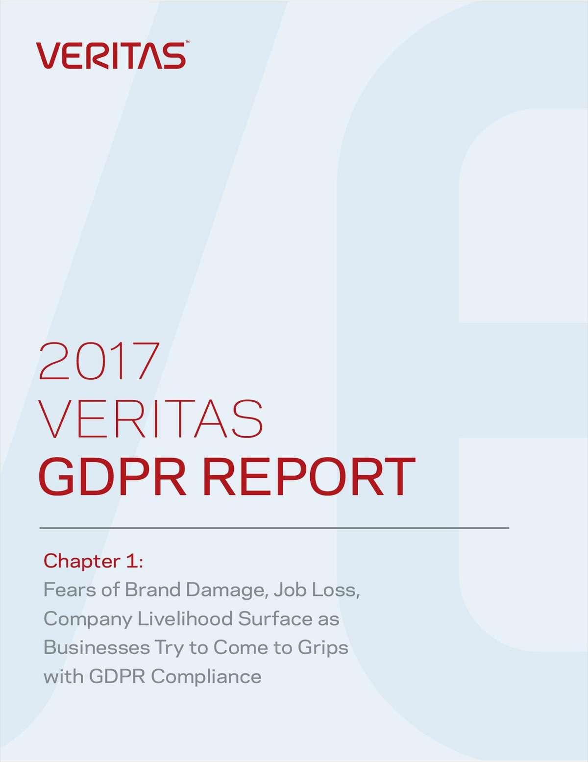 2017 Veritas GDPR Report Chapter 1