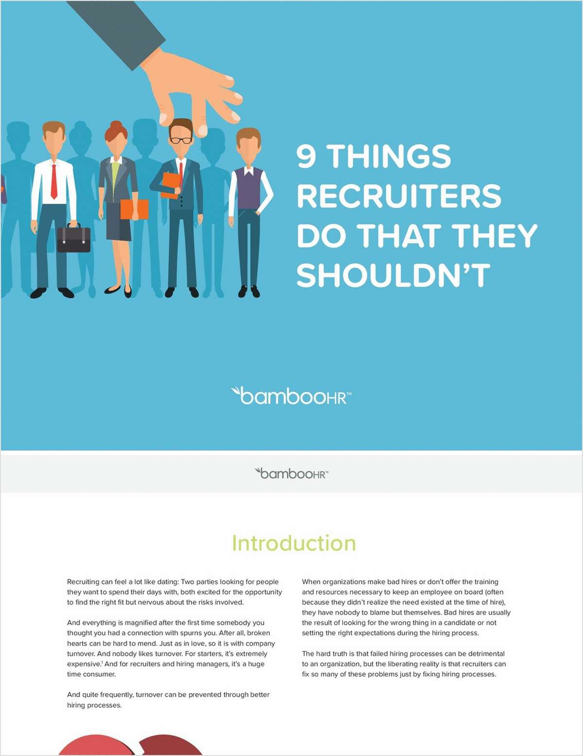 9 Things Recruiters Do That They Shouldn't