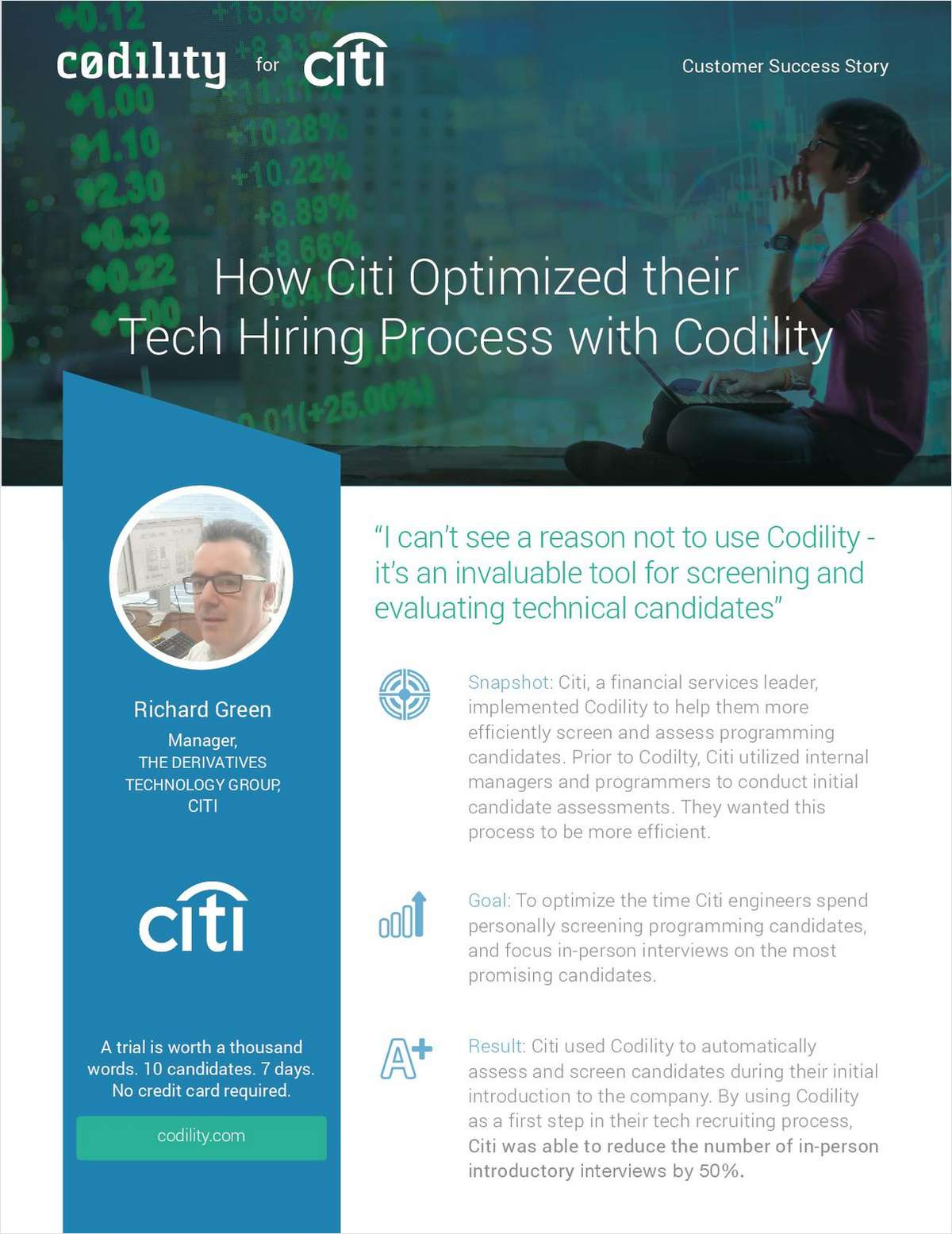How Citi Optimized their Tech Hiring Process with Codility