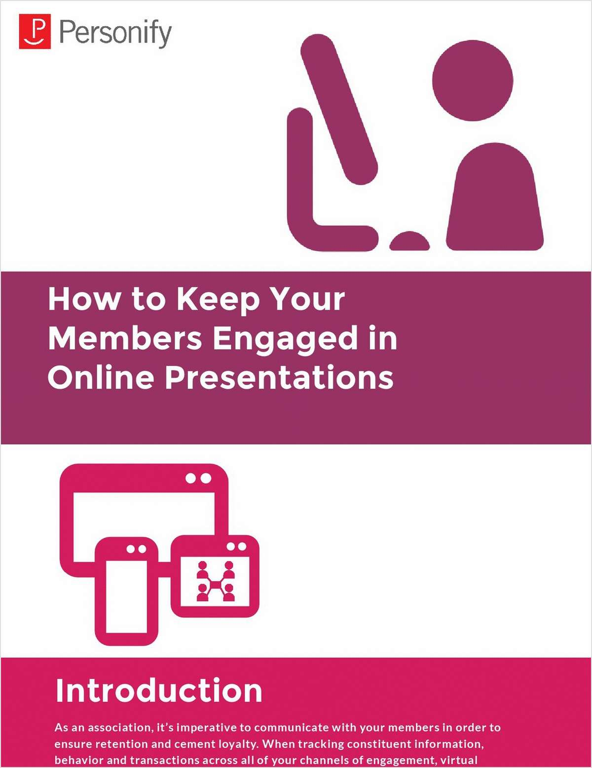 How to Keep Your Members Engaged in Online Presentations