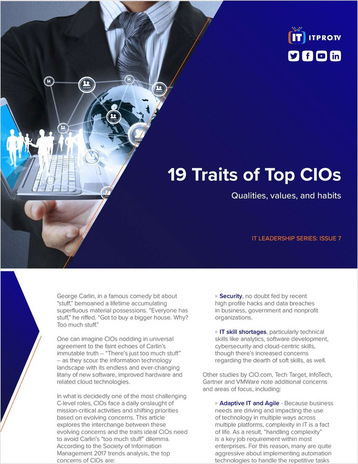 19 Traits of Top CIOs: Qualities, Values, and Habits