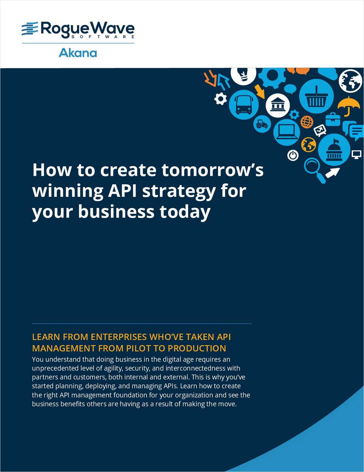 How to create tomorrow's winning API strategy for your business today