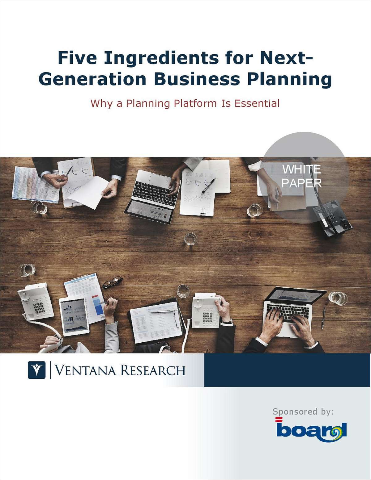 Ventana Research: Five Ingredients for Next-Generation Business Planning