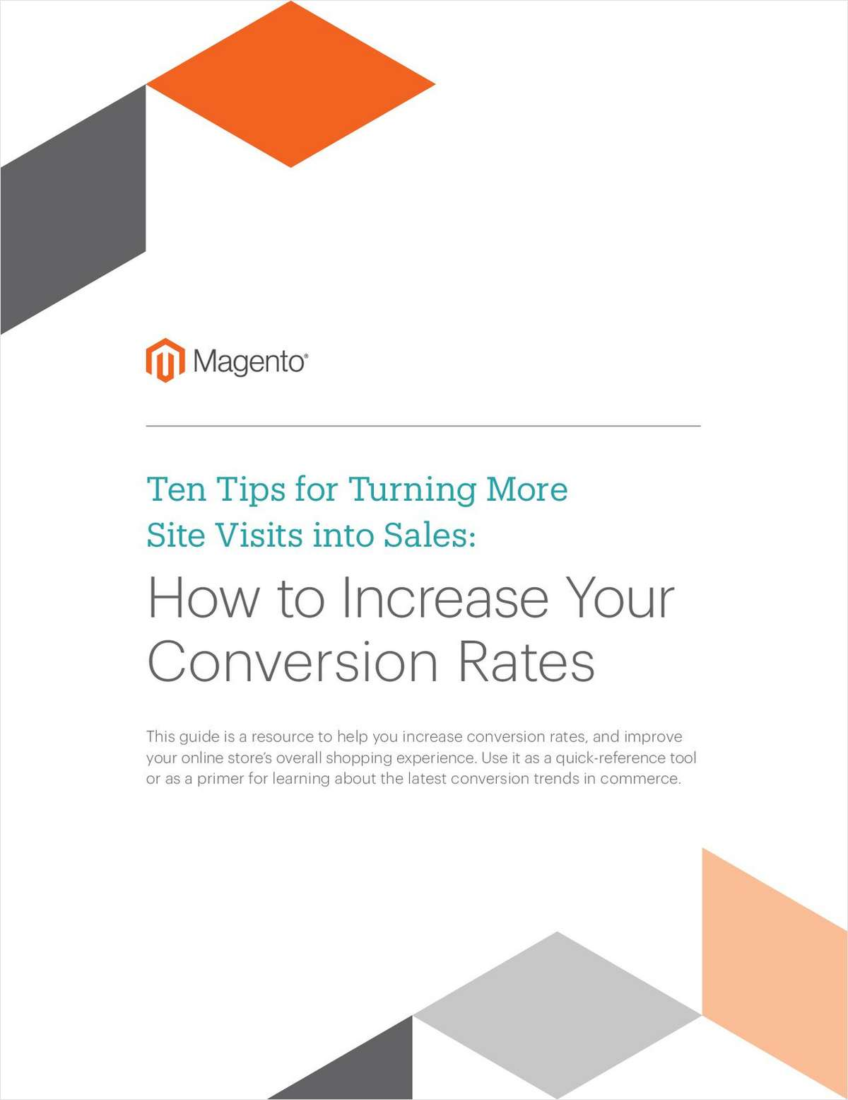 10 Tips for Increasing Conversion Rates