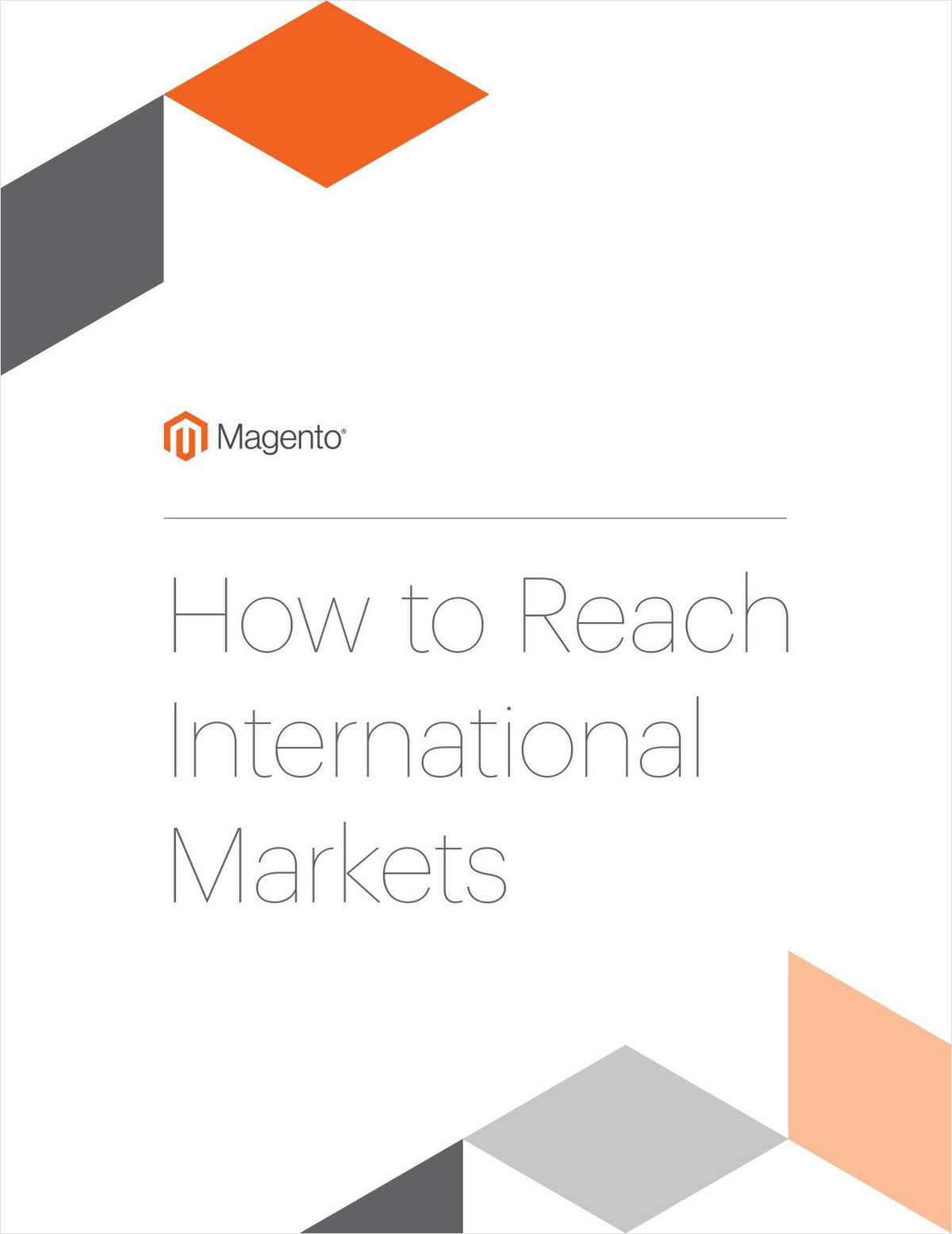 How to Reach International Markets