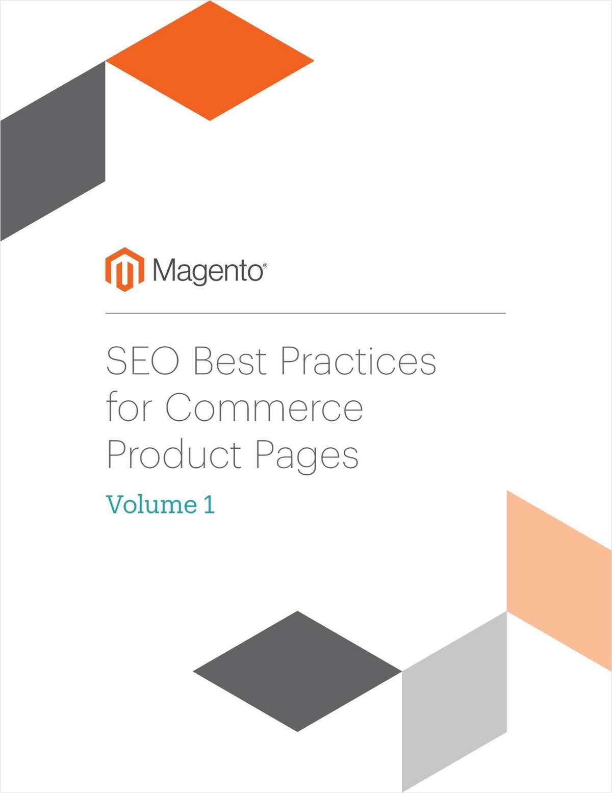 SEO Best Practices for Commerce Product Pages: Volume 1