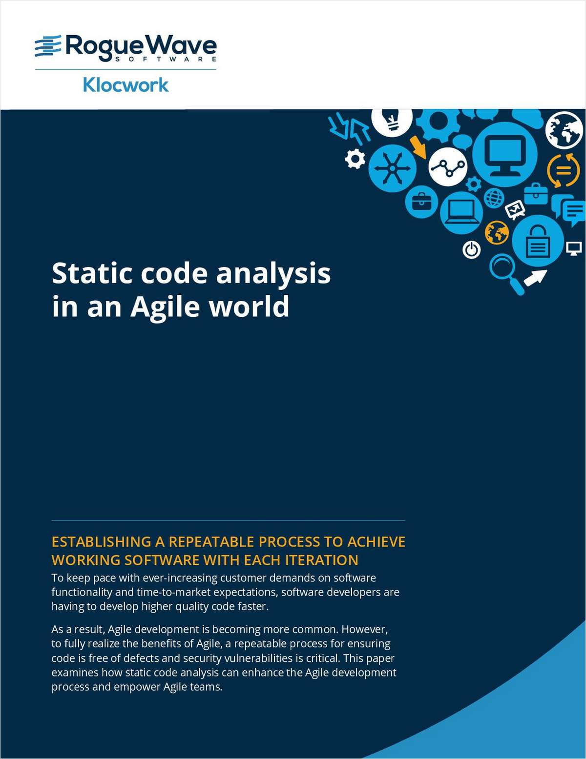 Static Code Analysis in an Agile World