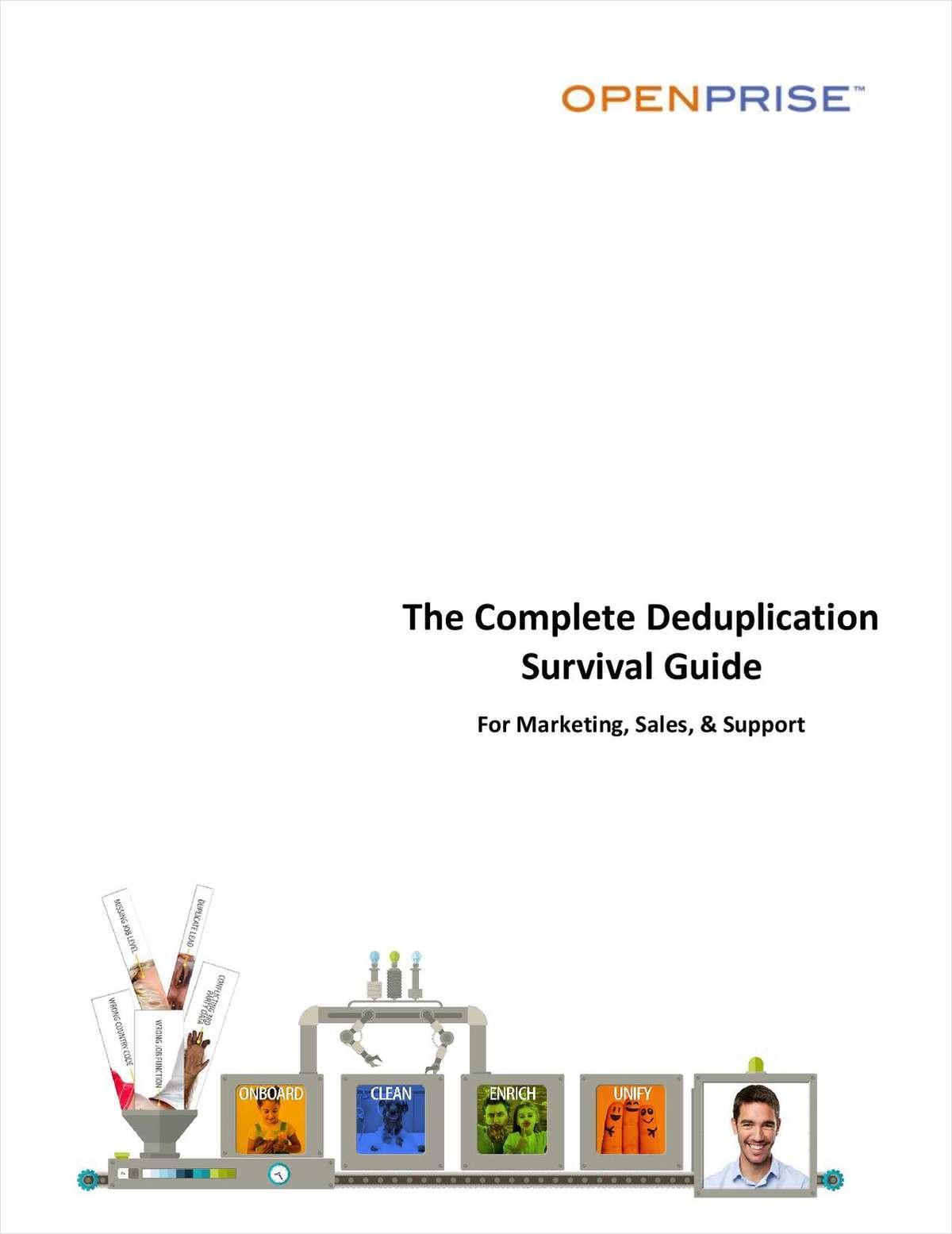The Complete Deduplication Survival Guide