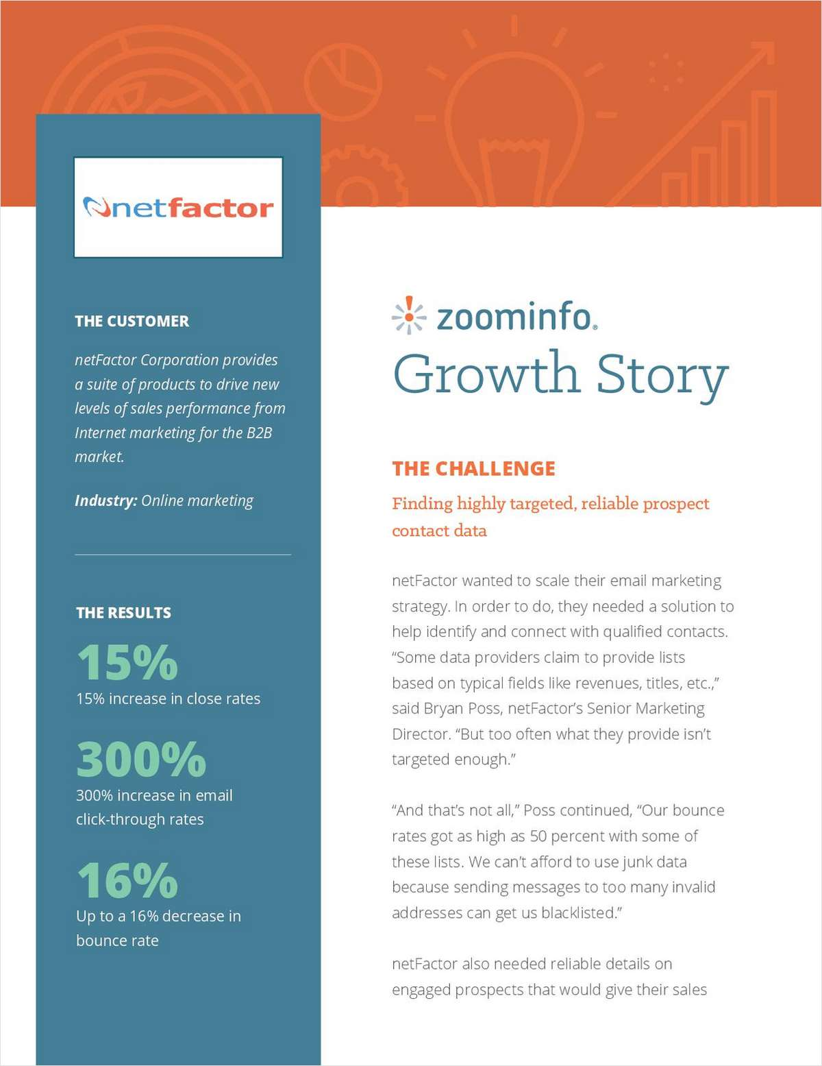 How netFactor Reduced Bounce Rates & Improved Email Marketing Engagement by 300%