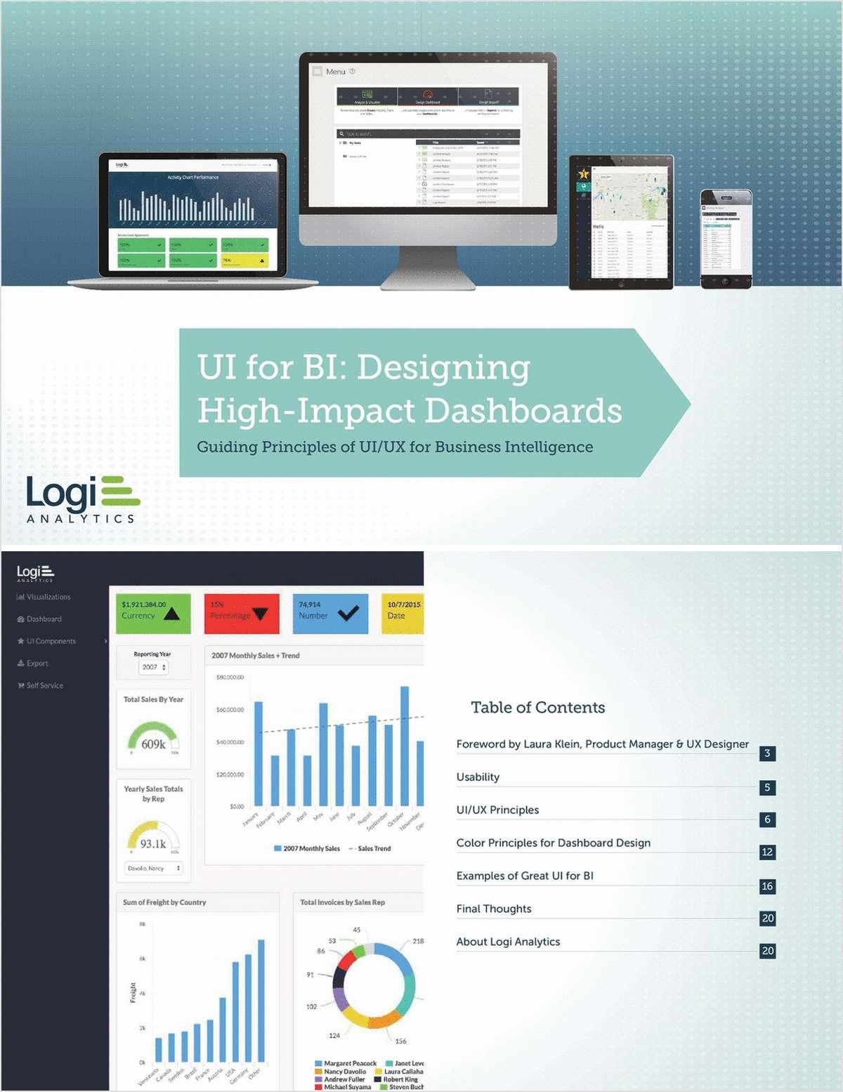 UI for BI: Designing High-Impact Dashboards