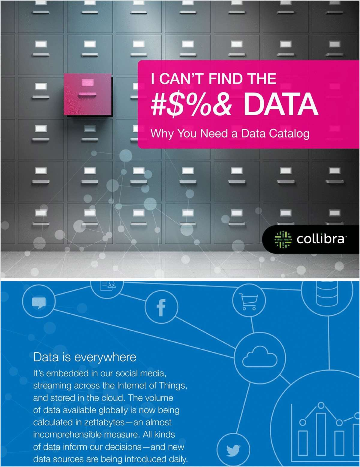 I Can't Find the #$%& Data: Why You Need a Data Catalog