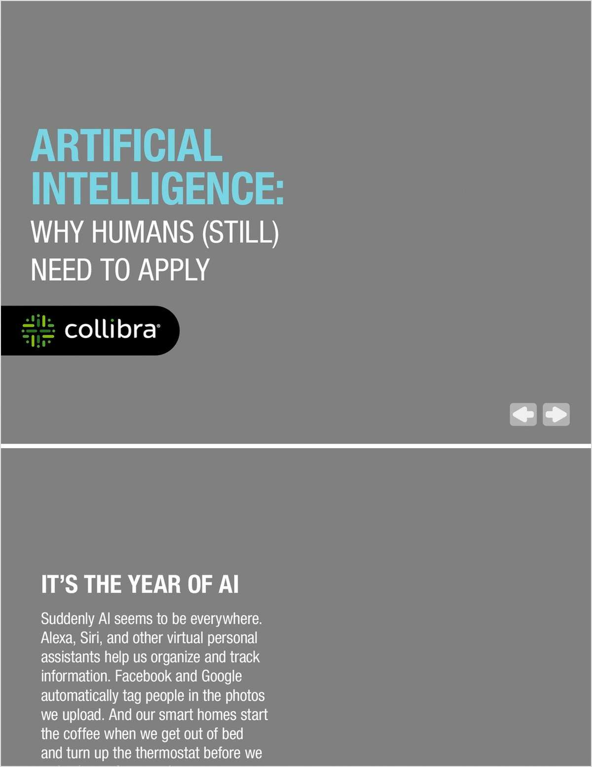 Artificial Intelligence: Why Humans (Still) Need to Apply