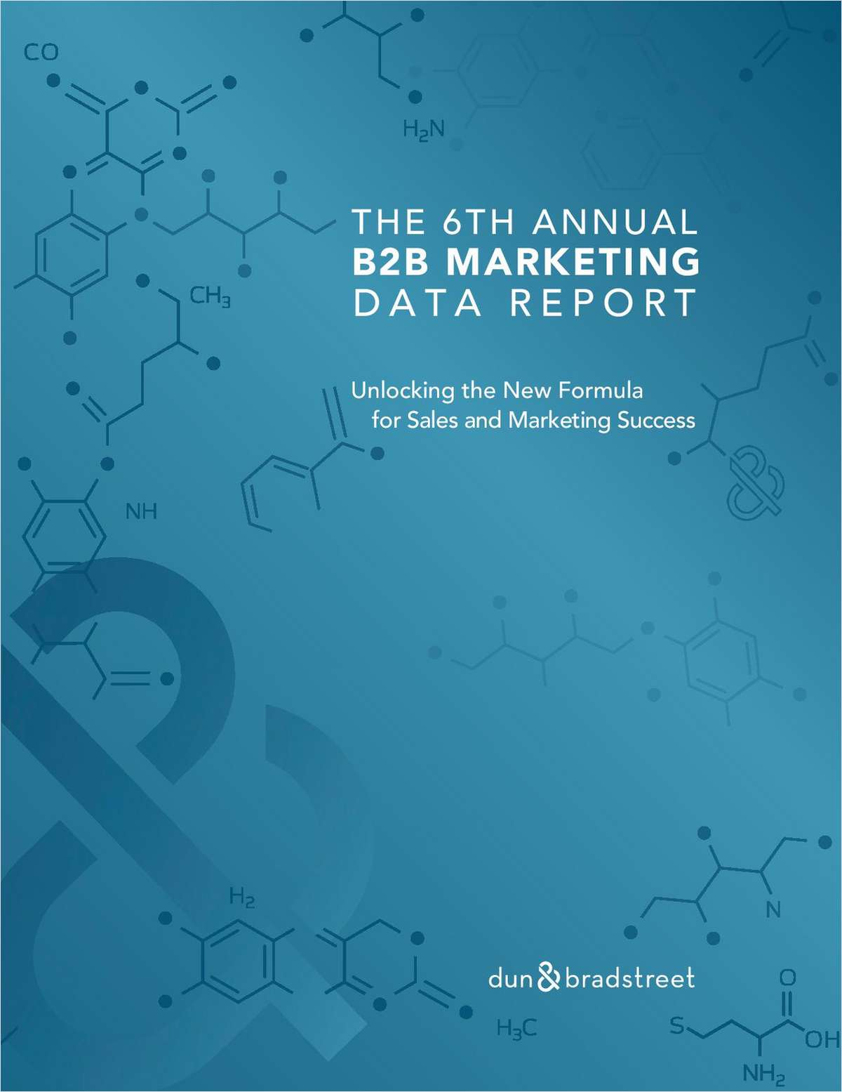 The 6th Annual B2B Marketing Data Report