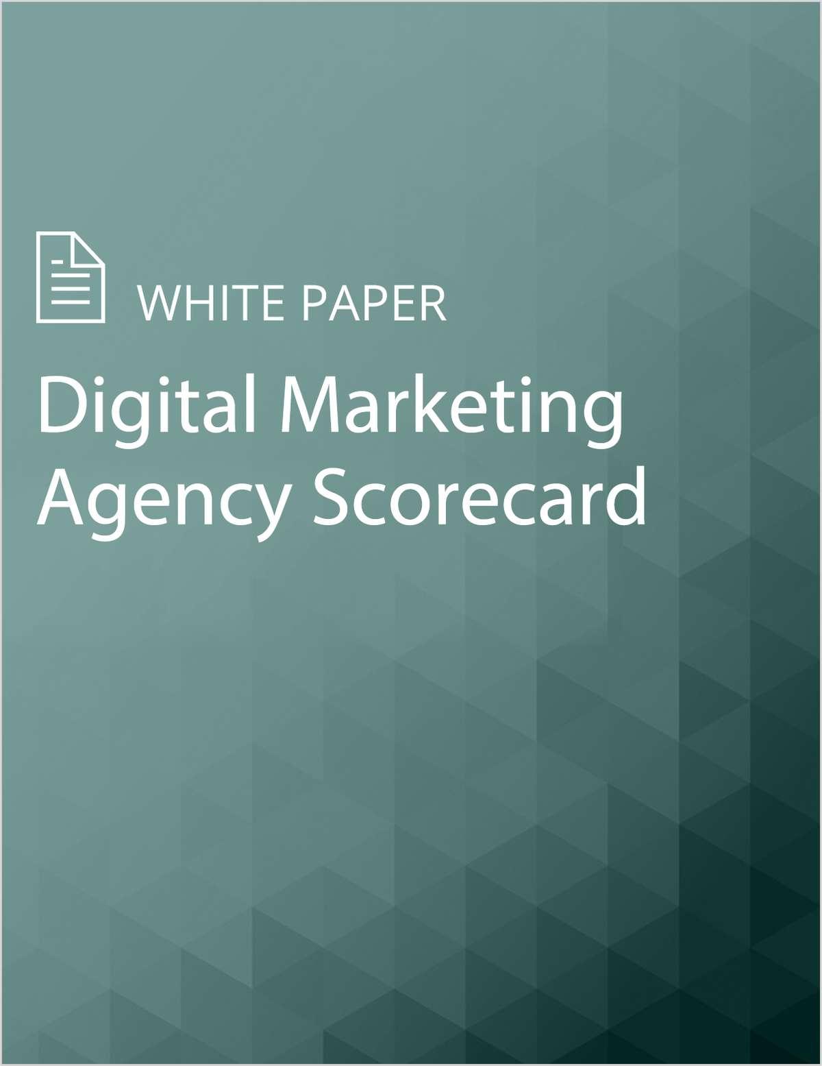 Digital Marketing Agency Scorecard