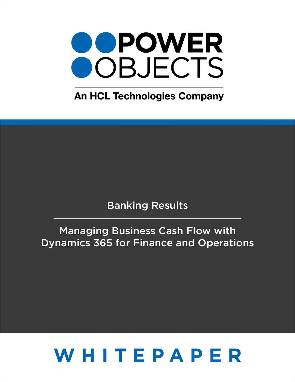 Managing Business Cash Flow with Dynamics 365 for Finance and Operations