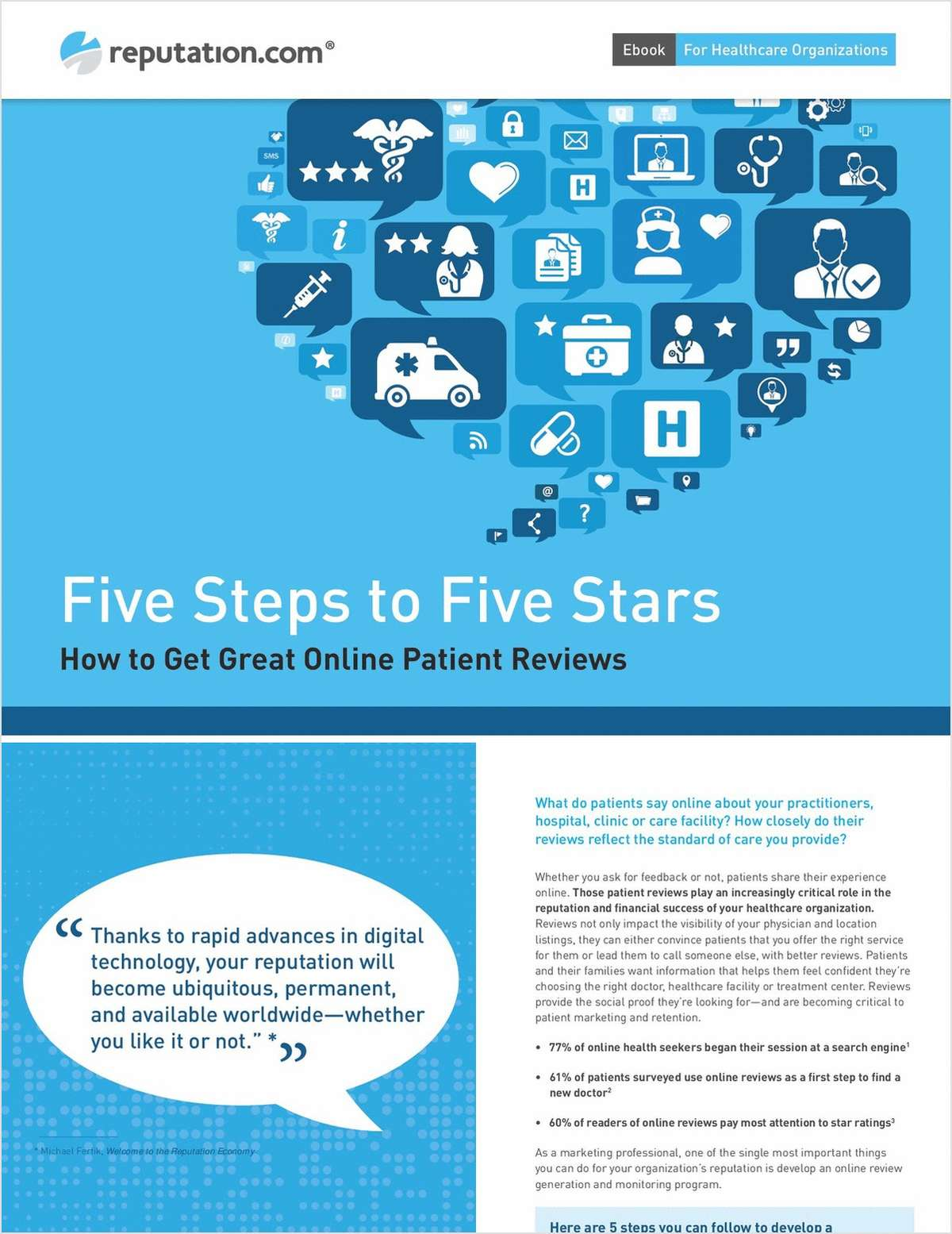 Five Steps to Five Stars: How to Get Great Online Patient Reviews