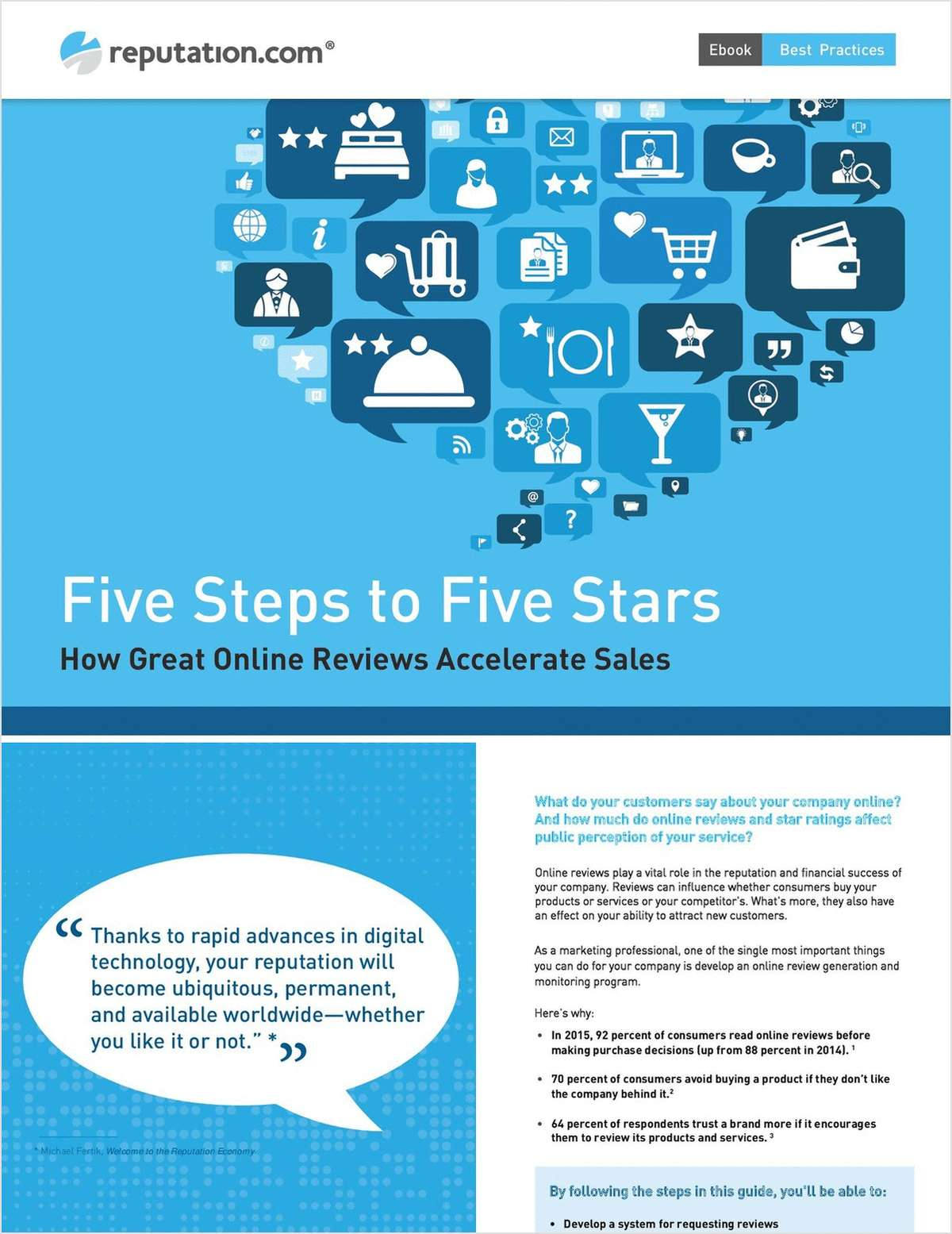 Five Steps to Five Stars: How Great Online Reviews Accelerate Sales