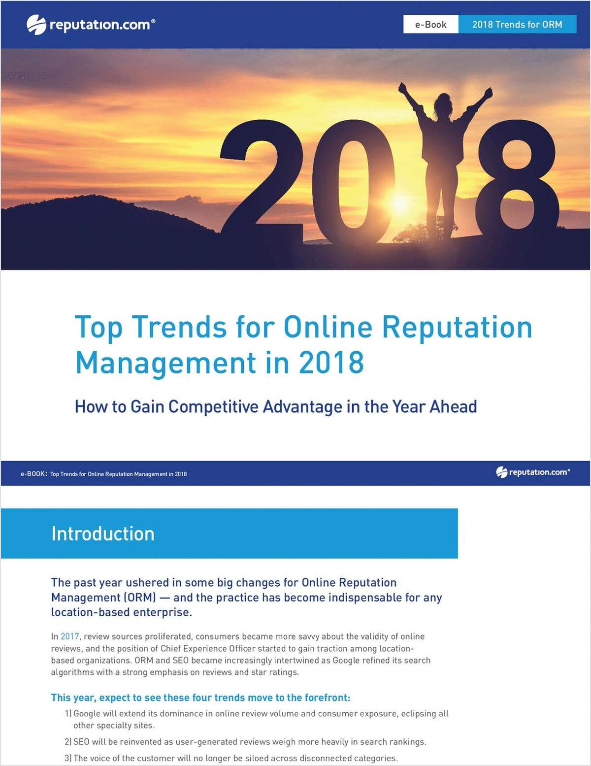 Top Trends for Online Reputation Management