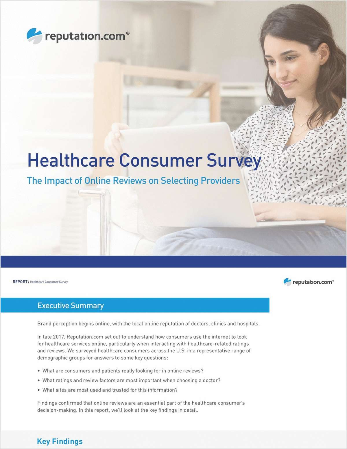 Healthcare Consumer Survey: The Impact of Online Reviews on Selecting Providers