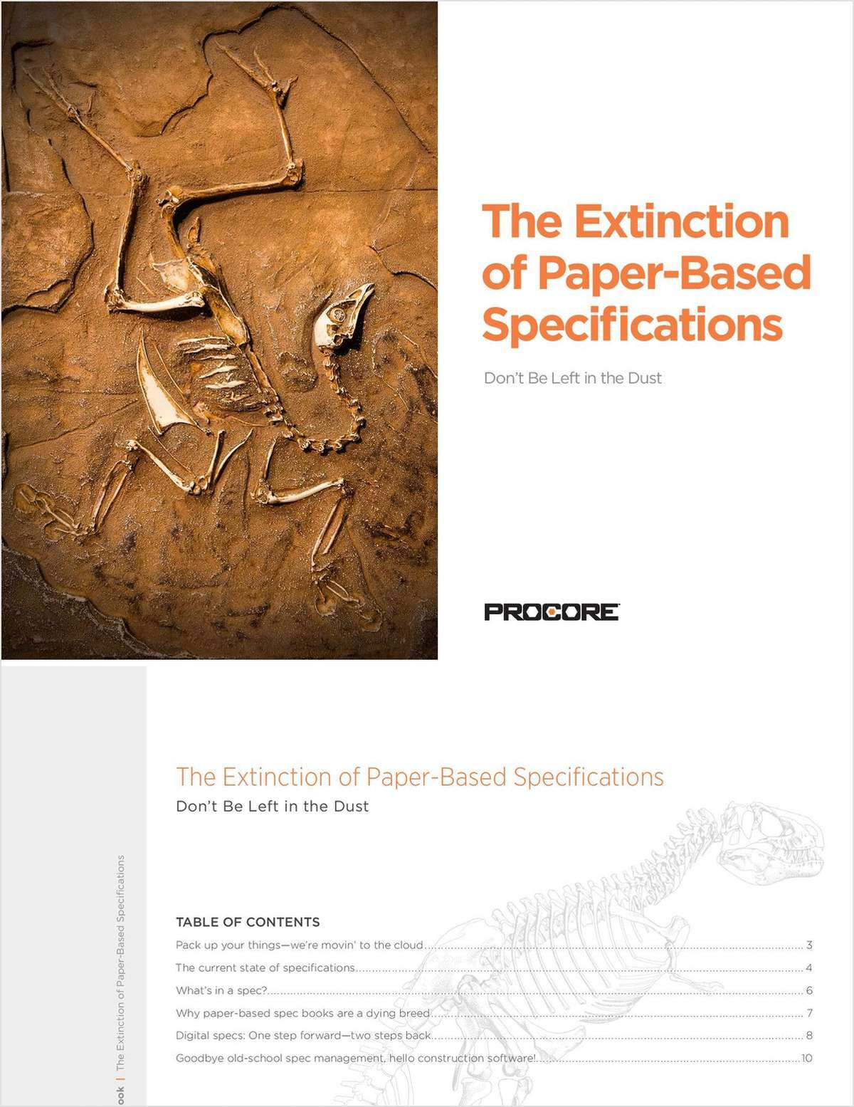 The Extinction of Paper-Based Construction Specs