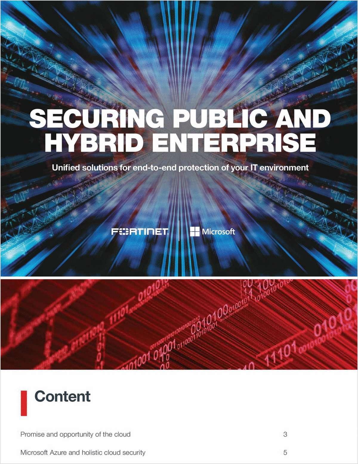 Securing Public and Hybrid Enterprises