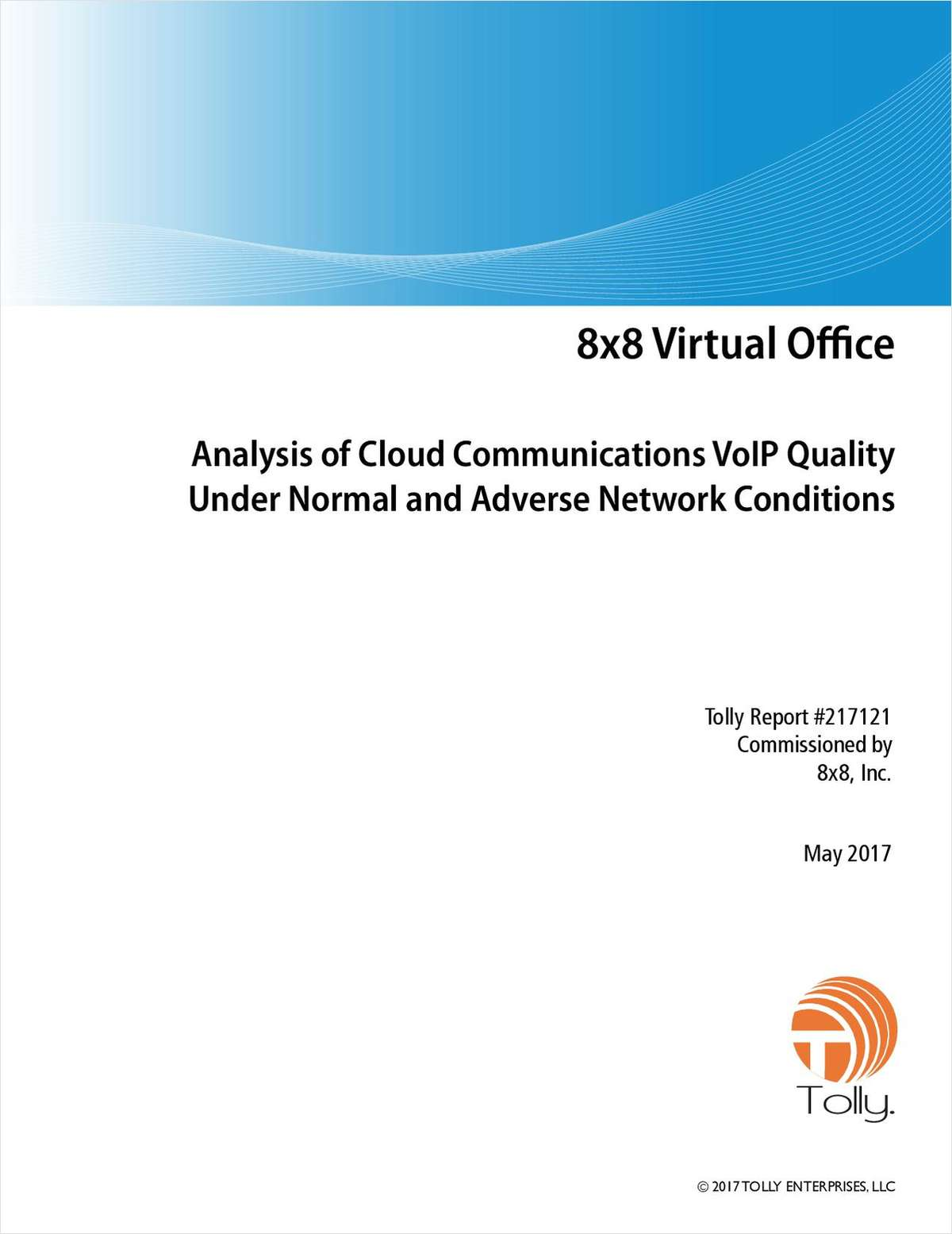 Analysis of Cloud Communications VoIP Quality Under Normal and Adverse Network Conditions