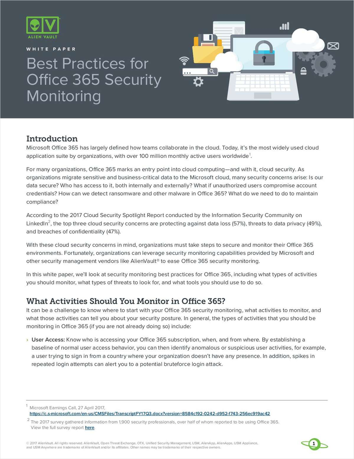 Best Practices for Office 365 Security Monitoring