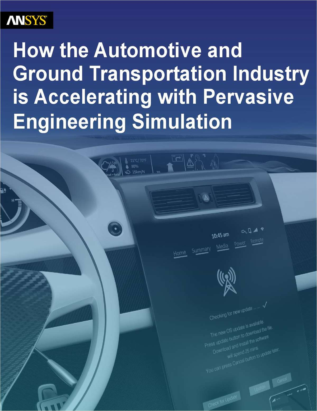 How the Automotive and Ground Transportation Industry is Accelerating with Pervasive Engineering Simulation
