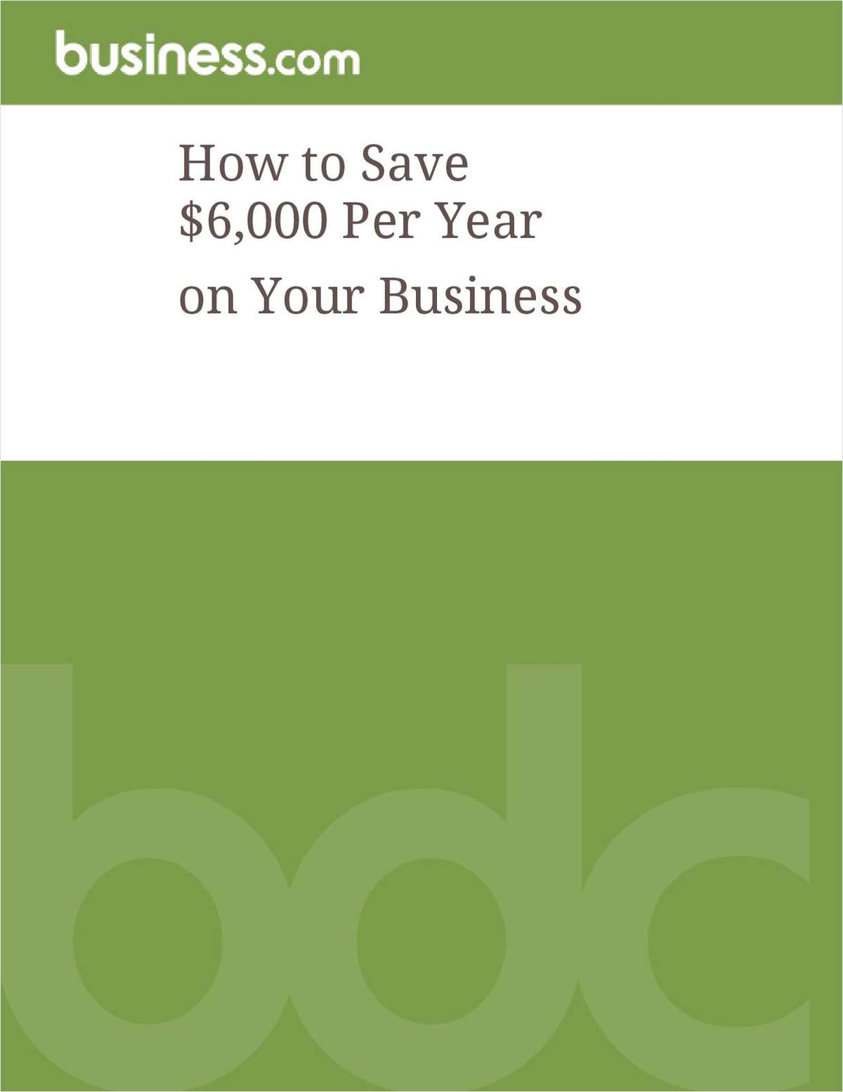 How To Save $6,000 Per Year on Your Business Phone System