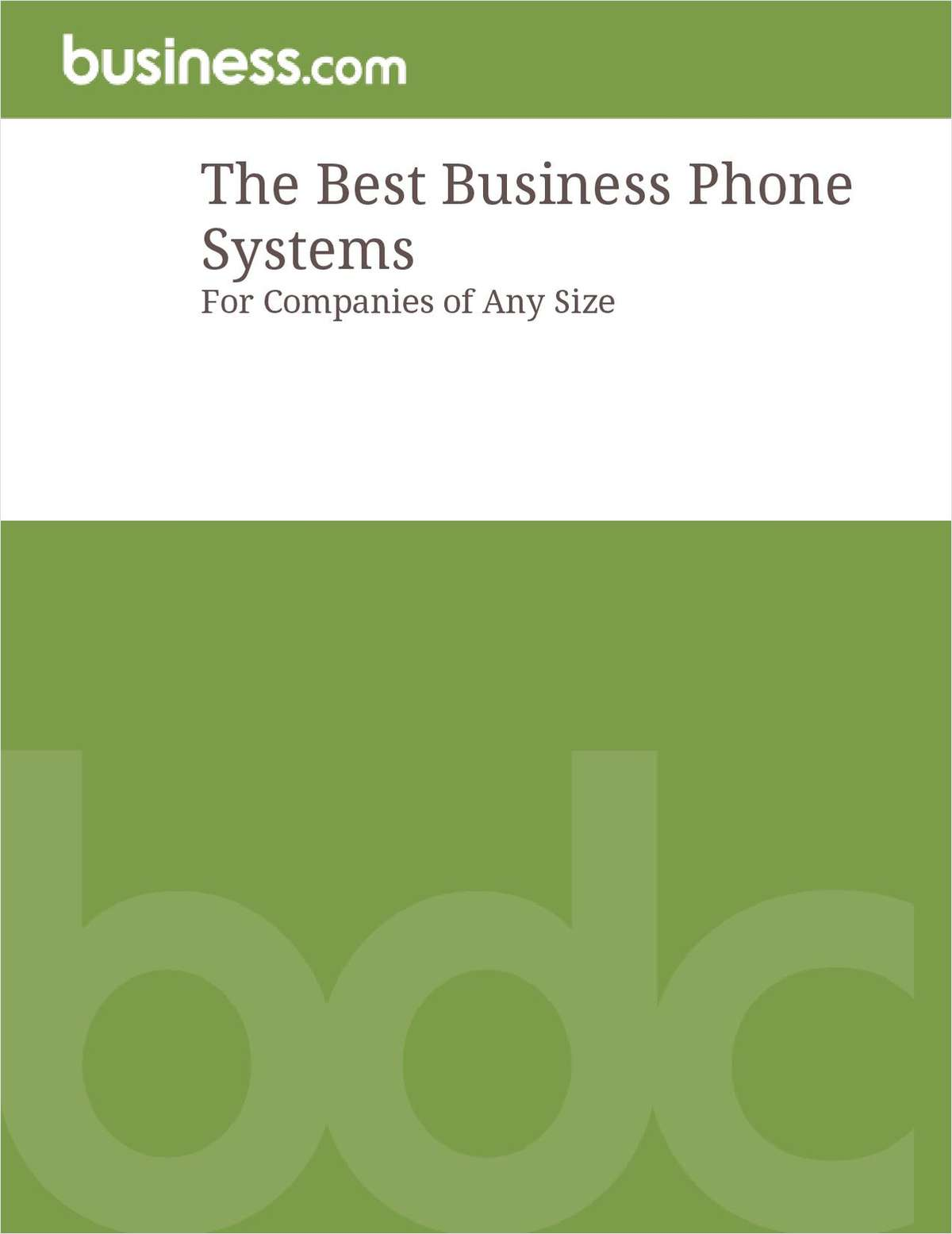 The Best Business Phone Systems: For Companies of Any Size