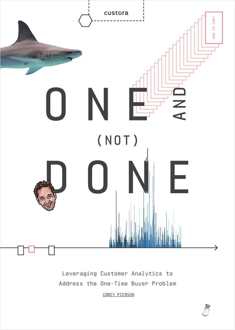 One and (Not) Done: Leveraging Customer Data to Address the One-Time Buyer Problem