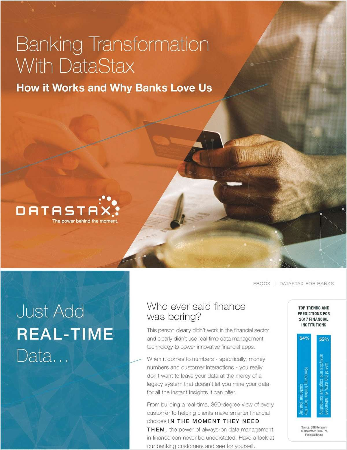 Banking Transformation with DataStax - How it Works & Why Banks Love Us