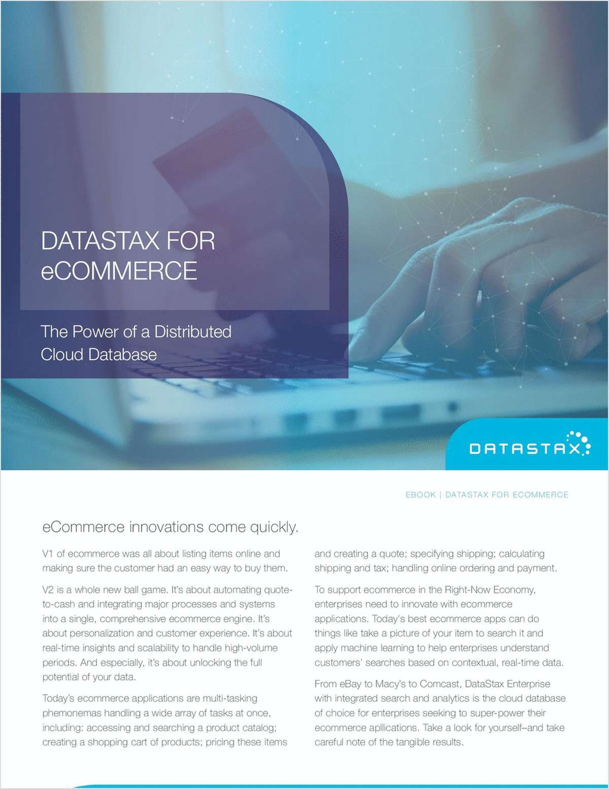 DataStax for eCommerce