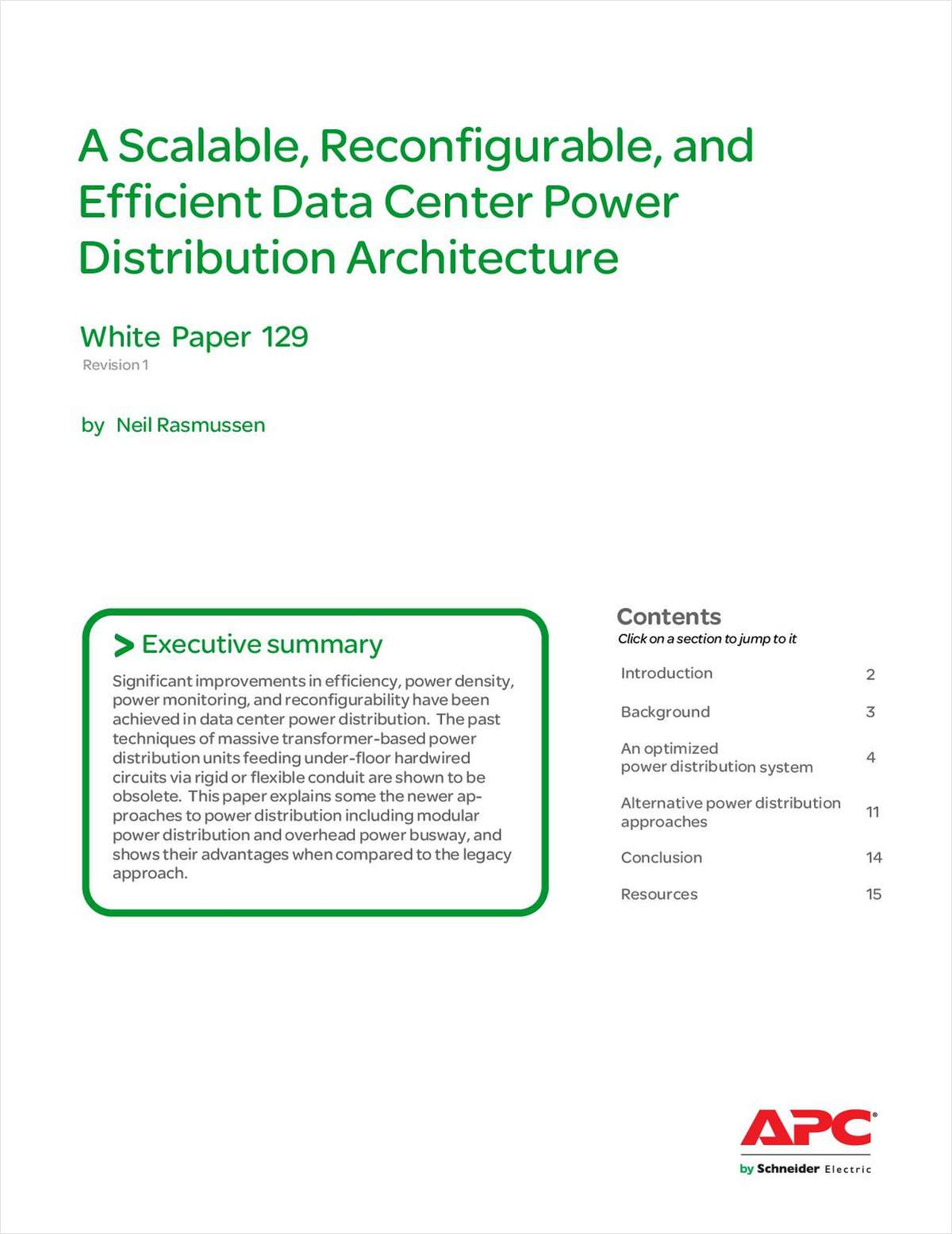 A Scalable, Reconfigurable, and Efficient Data Center Power Distribution Architecture