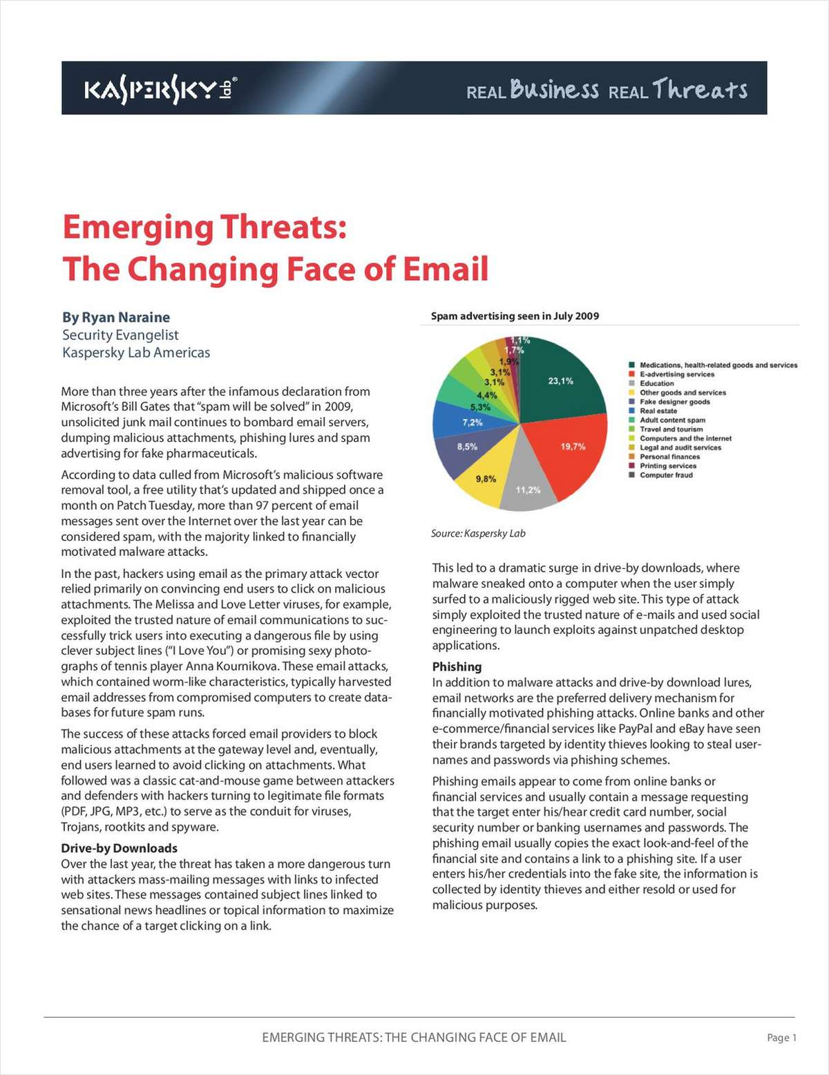 Emerging Threats: The Changing Face of Email