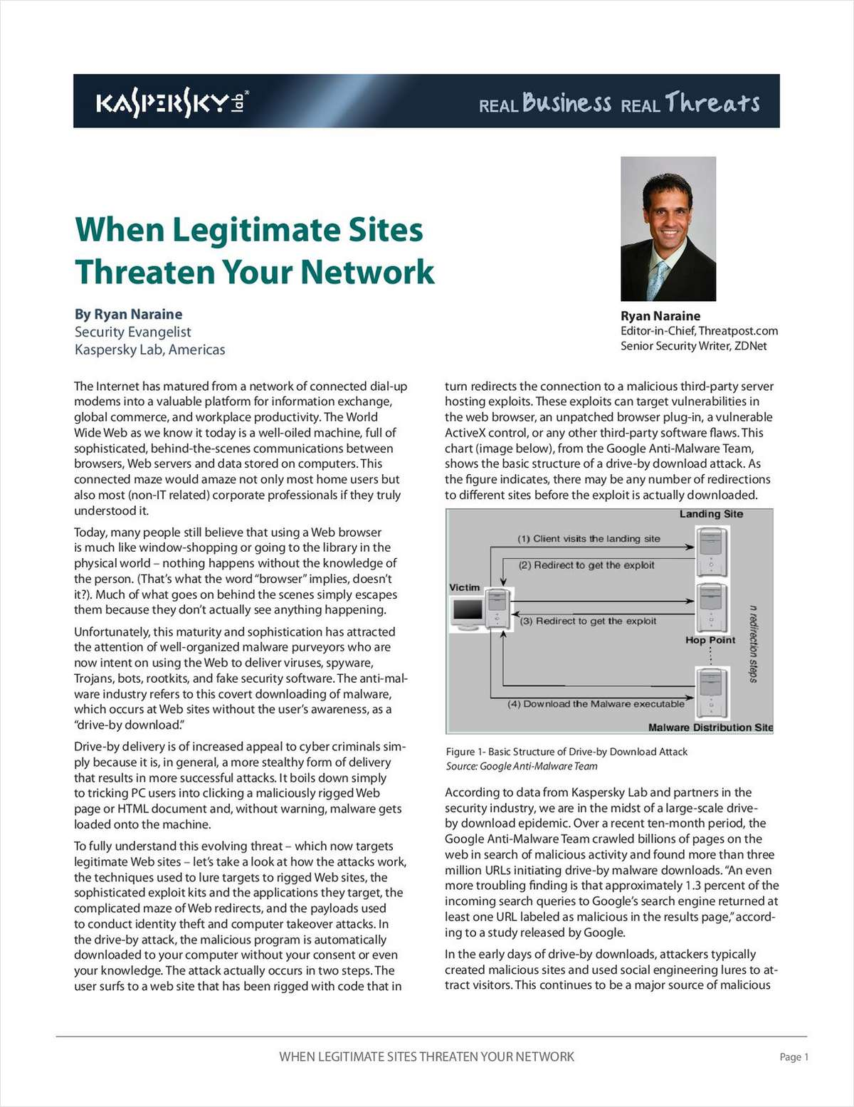 When Legitimate Sites Threaten Your Network