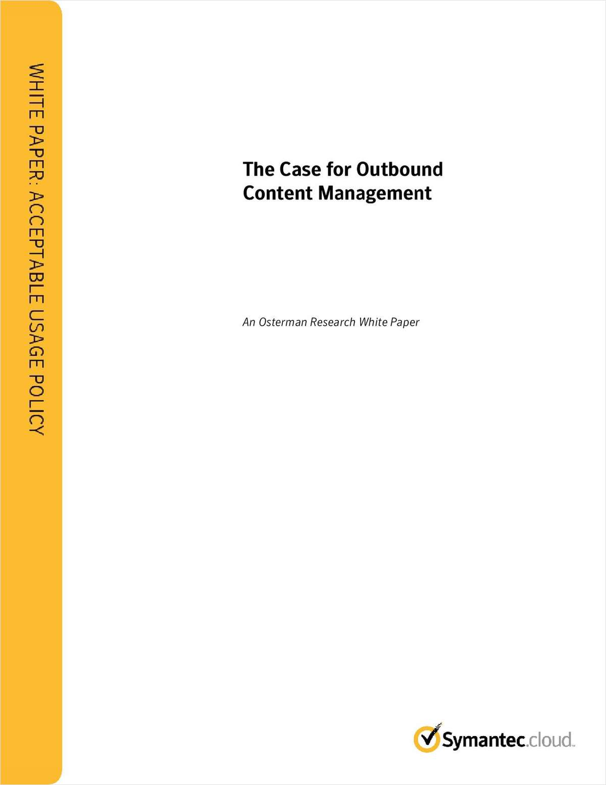 The Case for Outbound Content Management