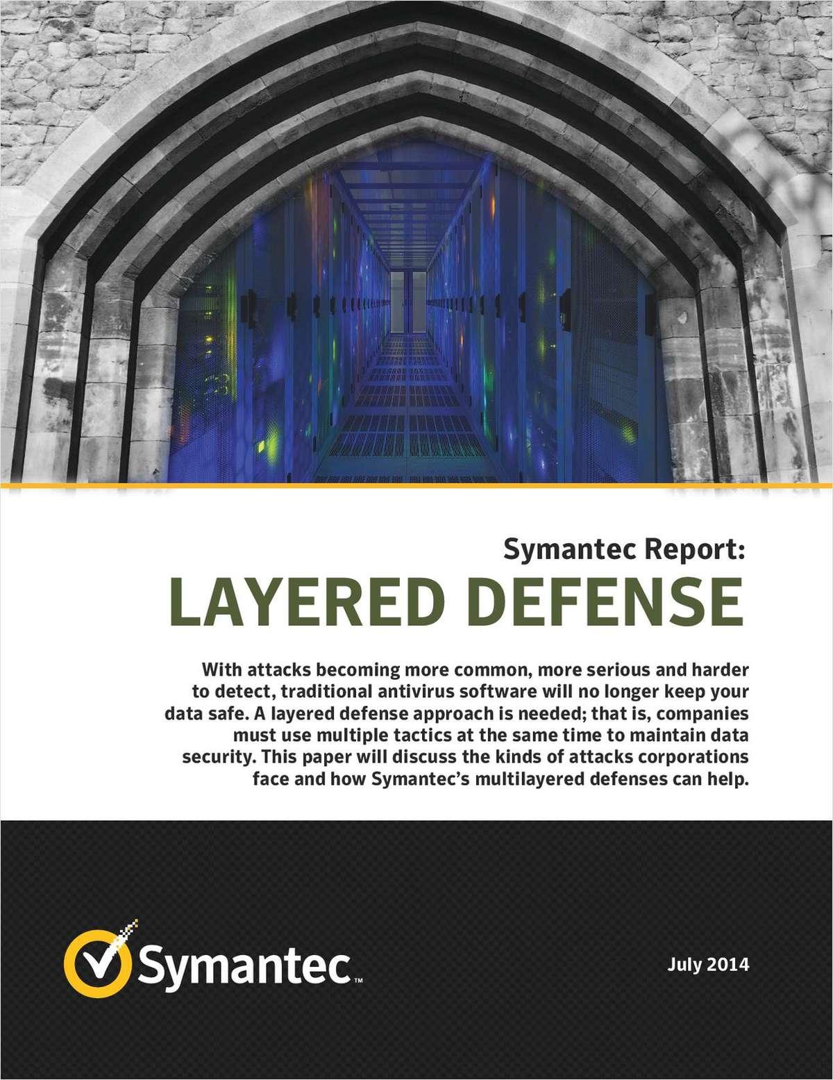 Symantec Report: Layered Defense