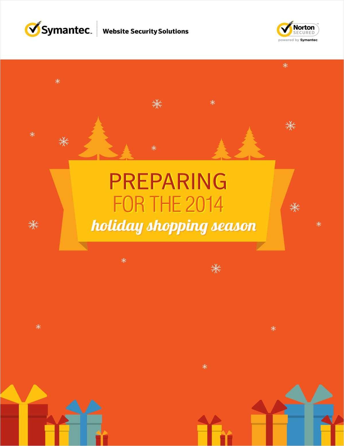 Preparing for the 2014 Holiday Shopping Season