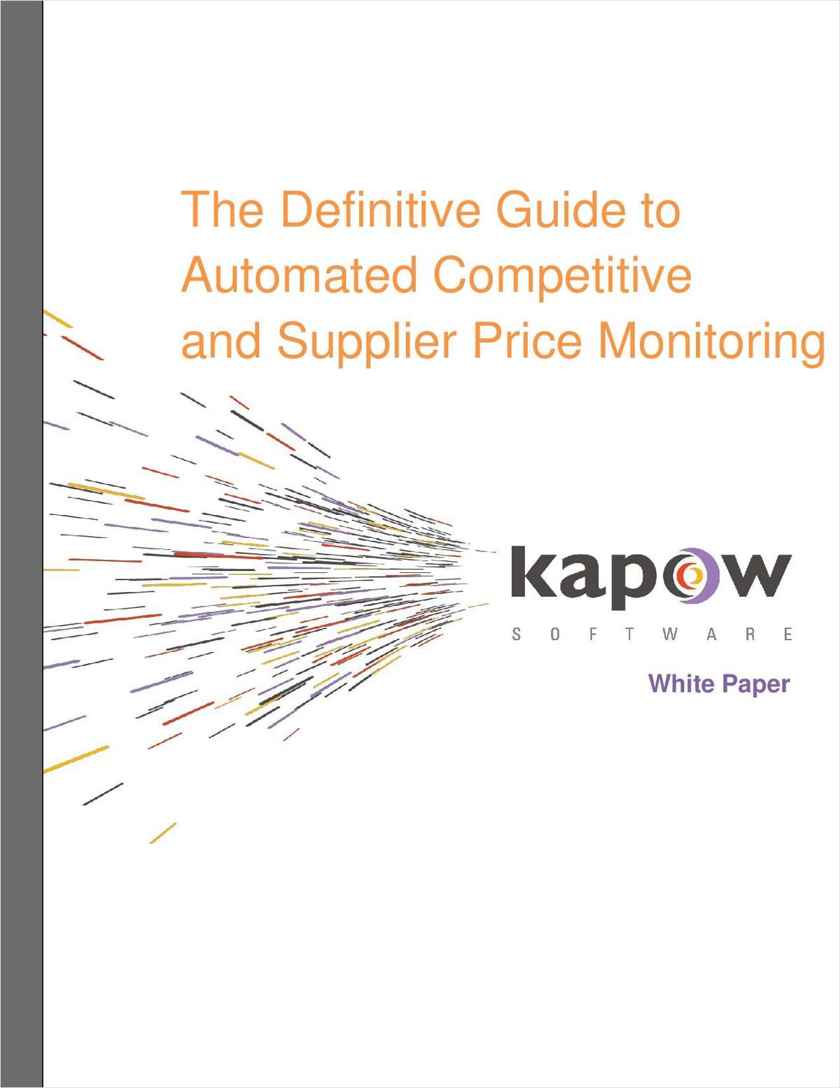 The Definitive Guide to Automated Competitive Price Comparison
