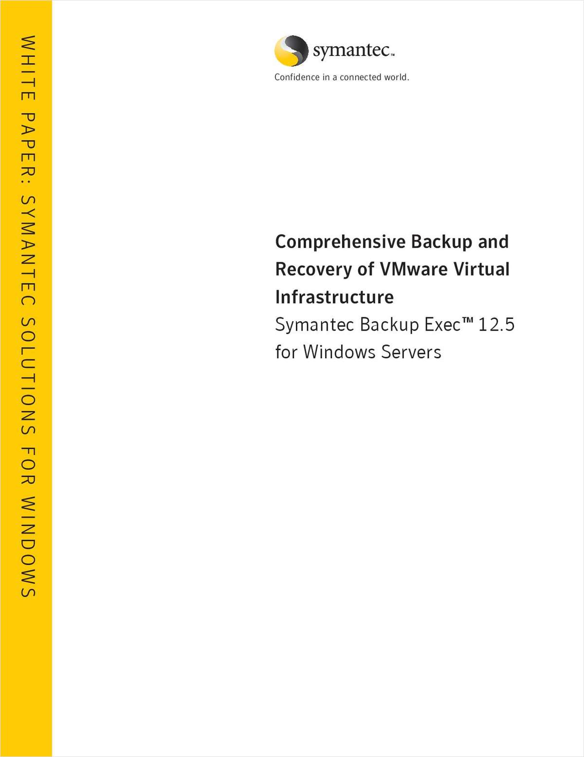 Comprehensive Backup and Recovery of VMware Virtual Infrastructure
