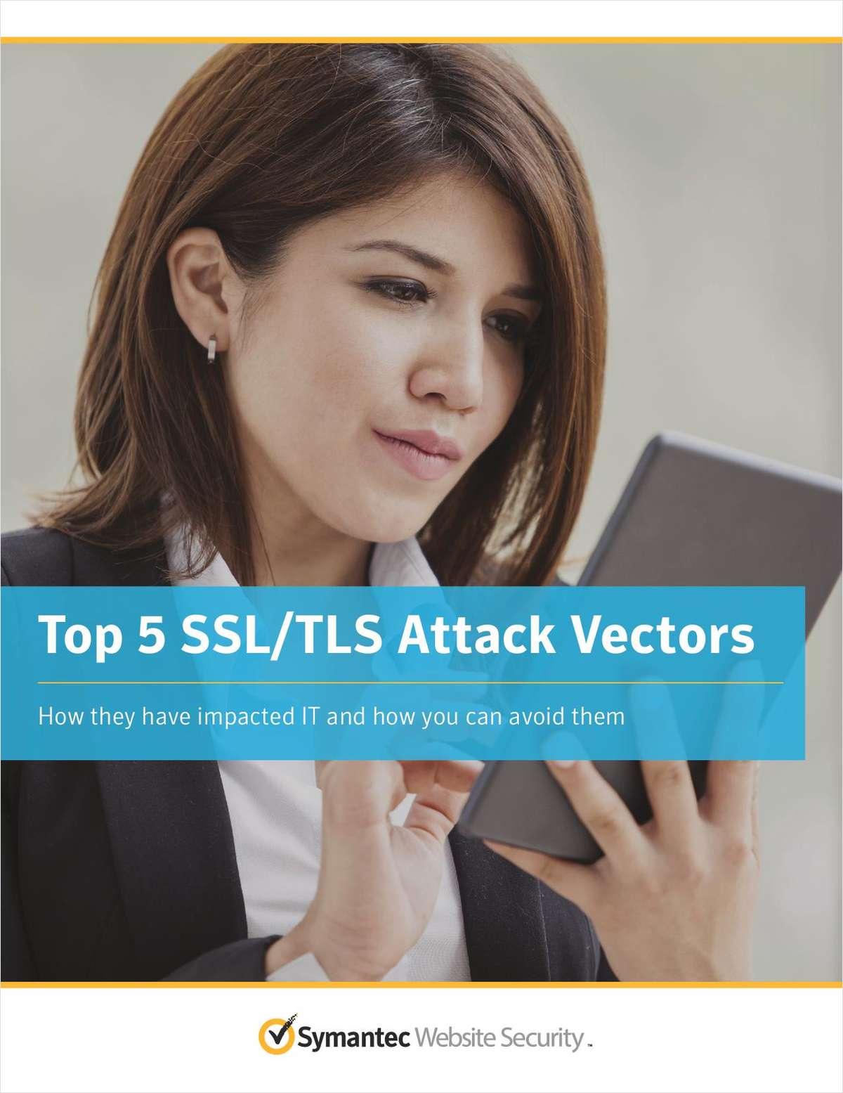 Top 5 SSL/TLS Attack Vectors
