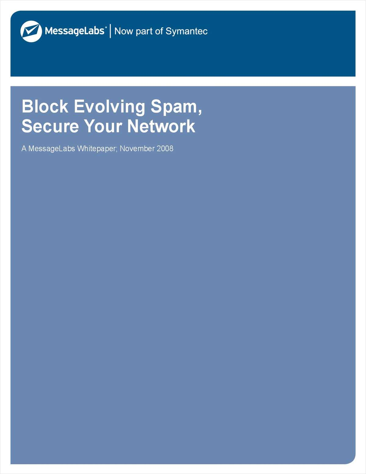 Block Evolving Spam, Secure Your Network