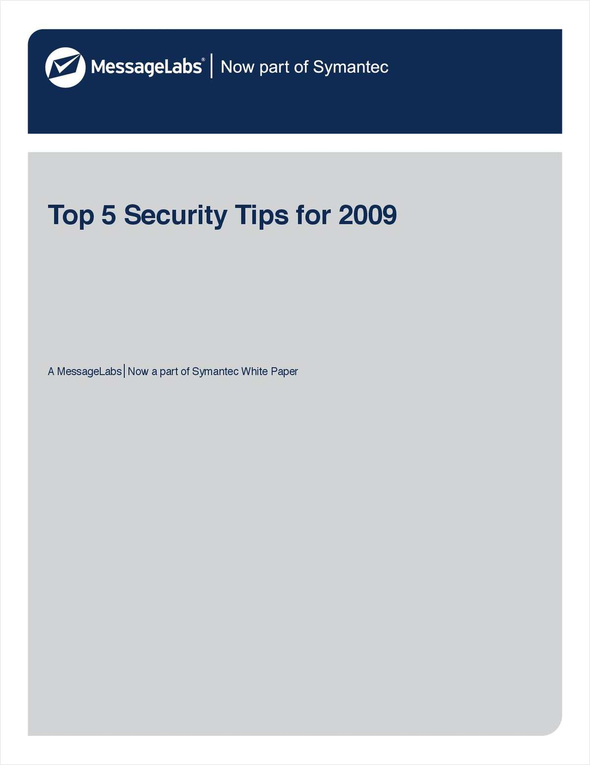 Top 5 Tips for Email and Web Security
